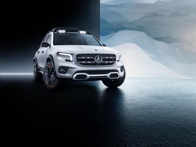 Foto Delantero Mercedes Glb Concept Suv Todocamino 2019