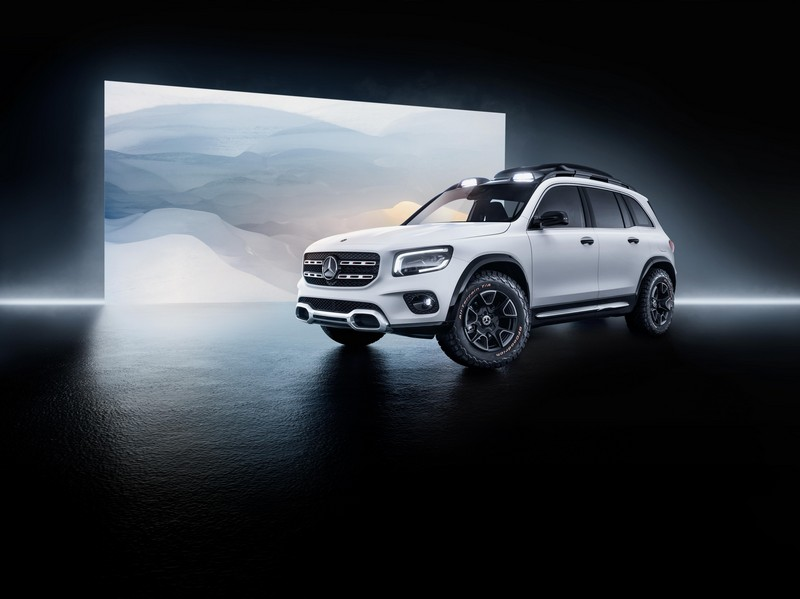 Foto Exteriores Mercedes Glb Concept Suv Todocamino 2019