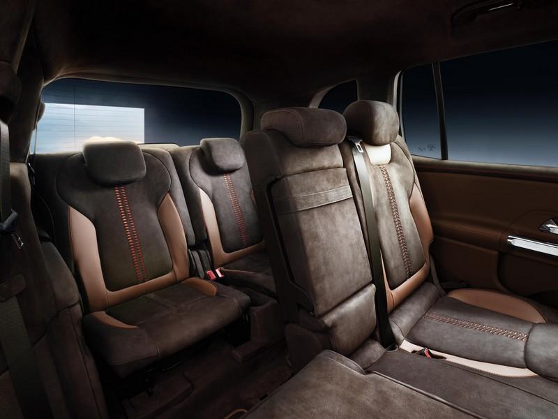 Foto Interiores 2 Mercedes Glb-concept Suv Todocamino 2019