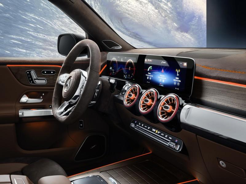 Foto Interiores Mercedes Glb Concept Suv Todocamino 2019