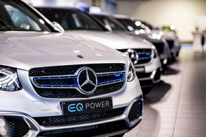 galeria de fotos mercedes glc-fuel-cell 2018 - tecnicas
