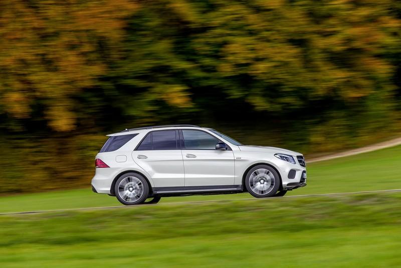 Foto Exteriores Mercedes Gle 450 Amg 4matic Suv Todocamino 2016