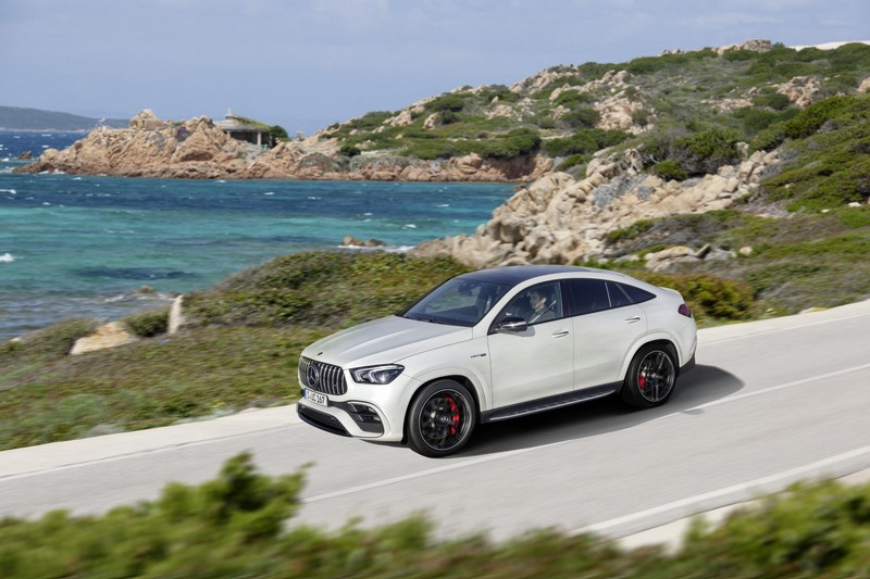 Foto Exteriores Mercedes Gle 63 S Coupe Suv Todocamino 2020