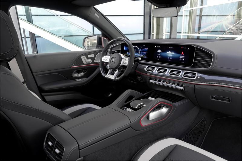 Foto Interiores Mercedes Gle 63 S Coupe Suv Todocamino 2020