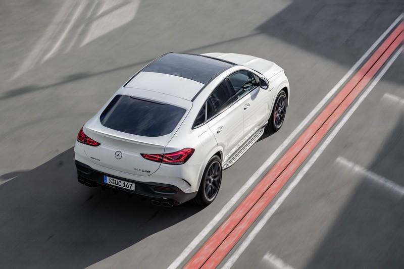 Foto Trasera Mercedes Gle 63 S Coupe Suv Todocamino 2020