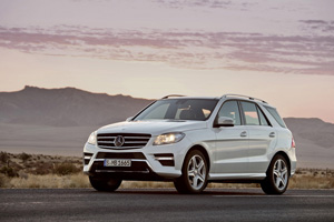 Mercedes Benz ML, prueba off-road