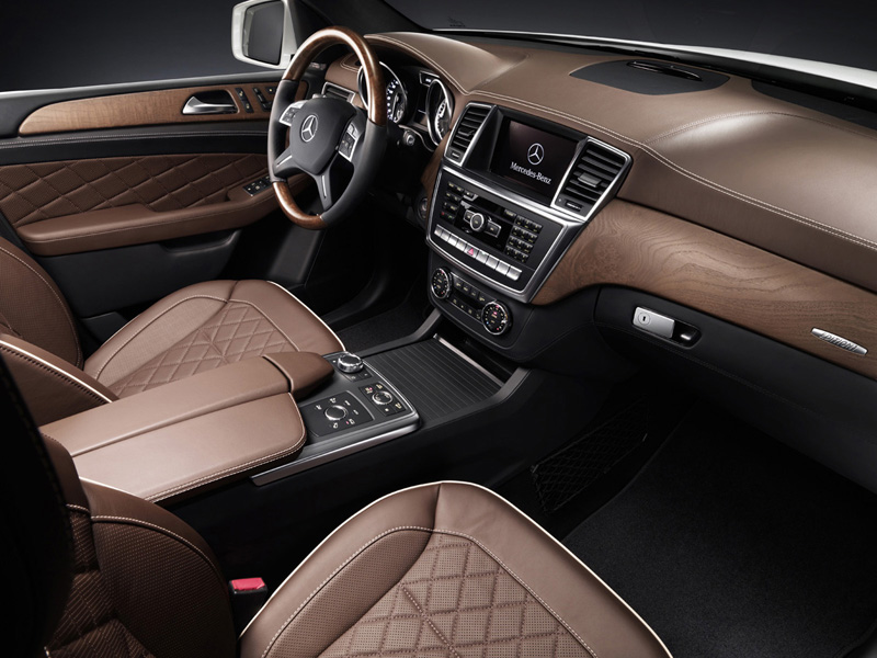 Foto Interiores-(3) Mercedes M-class Suv Todocamino 2011
