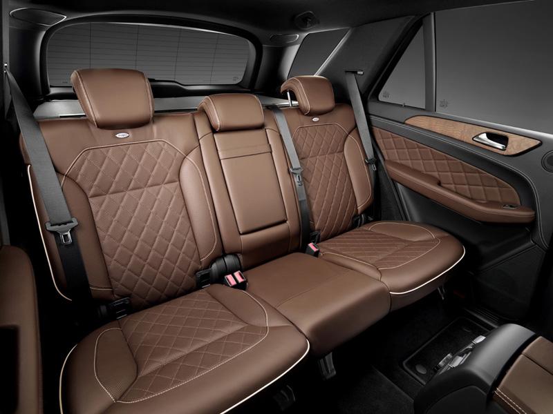 Asientos posteriores Mercedes Benz Clase M