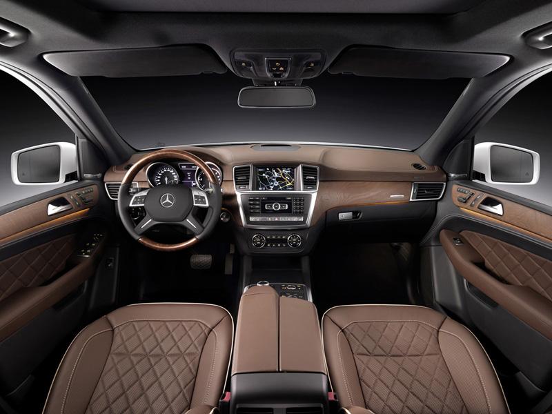 Foto Interiores Mercedes M-class Suv Todocamino 2011