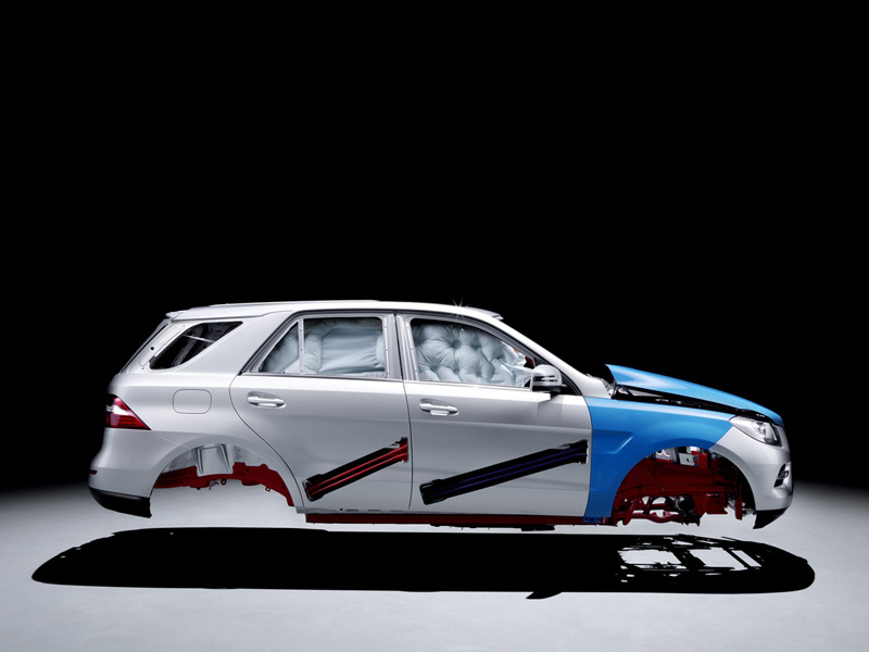 Foto Tecnicas-(60) Mercedes M-class Suv Todocamino 2011