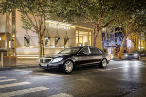 Foto Perfil Mercedes Maybach-clase-s Sedan 2014