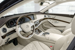 Foto Salpicadero Mercedes Maybach-clase-s Sedan 2014