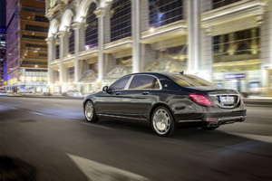 Foto Trasera Mercedes Maybach-clase-s Sedan 2014