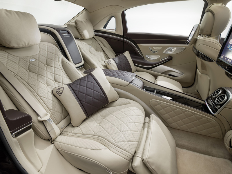Foto Interior (1) Mercedes Maybach-clase-s Sedan 2014