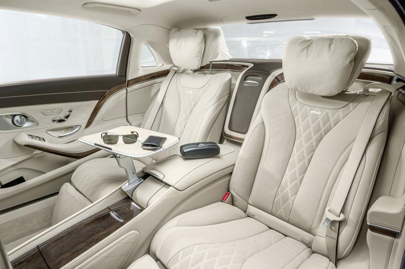 Foto Interior (2) Mercedes Maybach-clase-s Sedan 2014