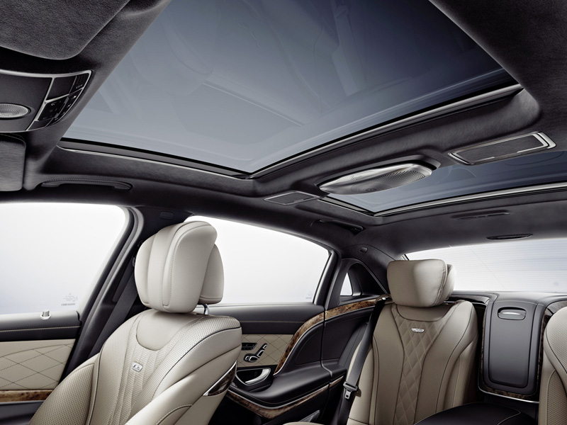 Foto Interior (3) Mercedes Maybach-clase-s Sedan 2014