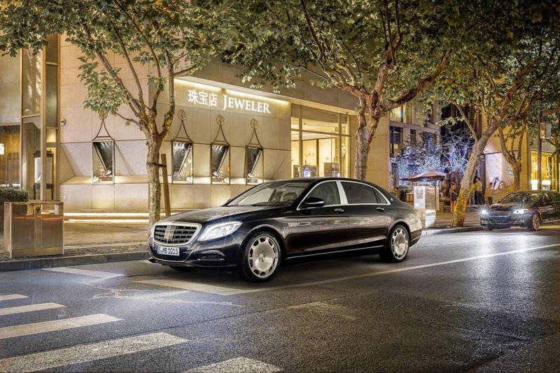 Foto Perfil Mercedes Maybach-clase-s Sedan 2014