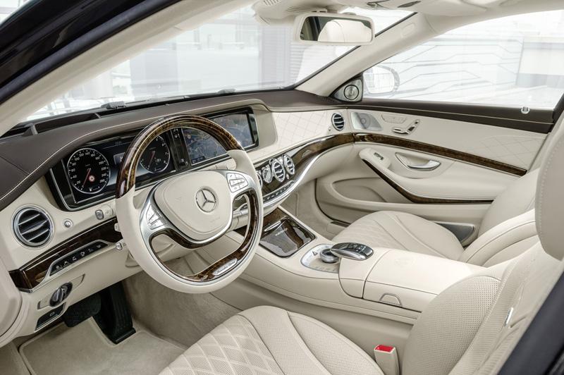 Foto Salpicadero Mercedes Maybach-clase-s Sedan 2014