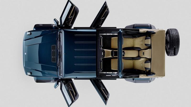 Foto Exteriores Mercedes Maybach G650 Landaulet Suv Todocamino 2017