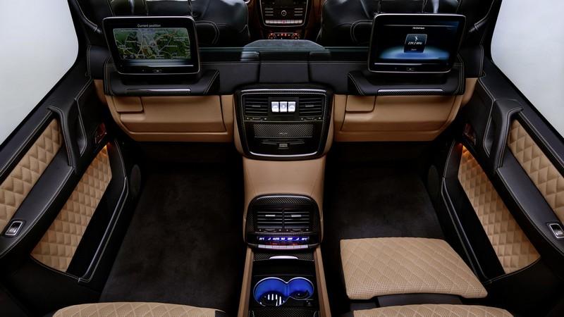 Foto Interiores 1 Mercedes Maybach-g650-landaulet Suv Todocamino 2017