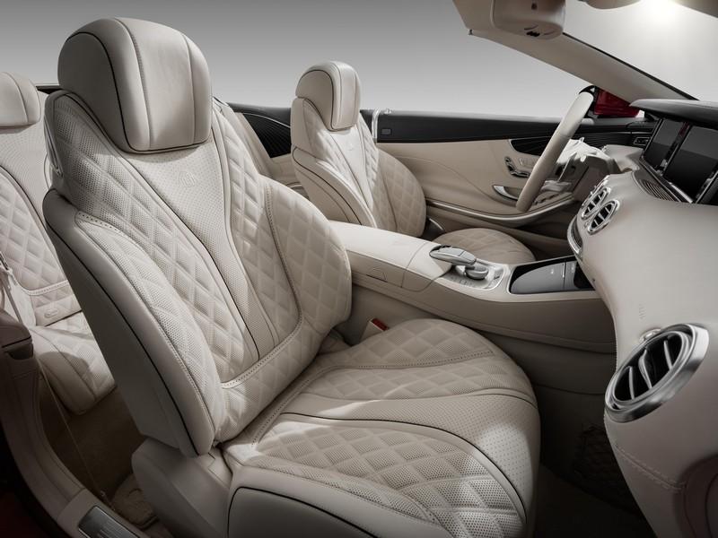 Foto Interiores Mercedes Maybach S650 Descapotable 2017