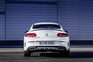 Foto Trasera Mercedes Mercedes-amg-c-43-4matic-coupe Cupe 2016