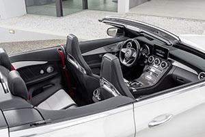 galeria de fotos mercedes mercedes-amg-c-63-cabrio 2016 - interiores
