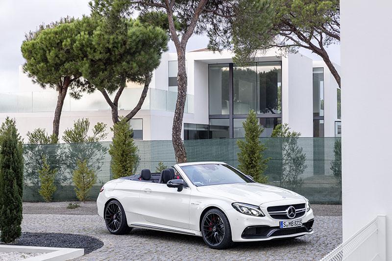 Foto Exteriores Mercedes Mercedes Amg C 63 Cabrio Descapotable 2016