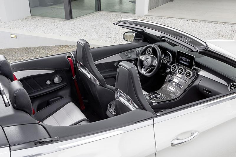 Foto Interiores Mercedes Mercedes Amg C 63 Cabrio Descapotable 2016