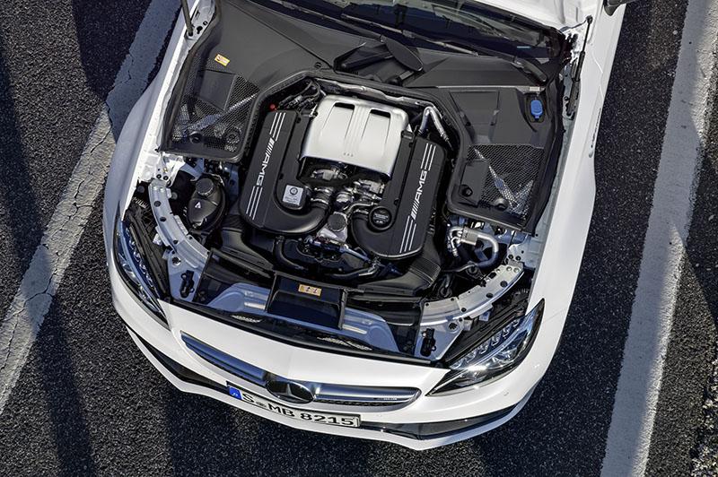 Motor Mercedes-AMG C63