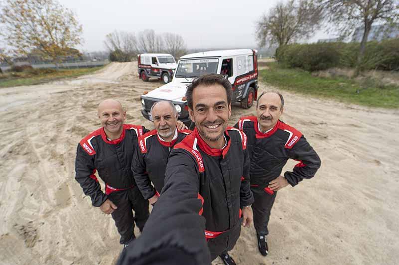 Foto Equiporumbozero(1) Mercedes Mercedes Claseg Todoterreno Dakar2021 Rumbozero
