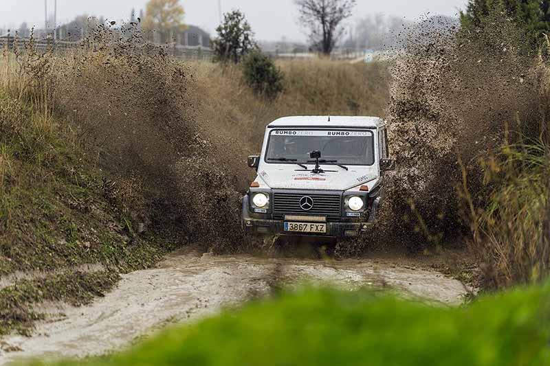 Foto Exteriores Mercedes Mercedes Claseg Todoterreno Dakar2021 Rumbozero