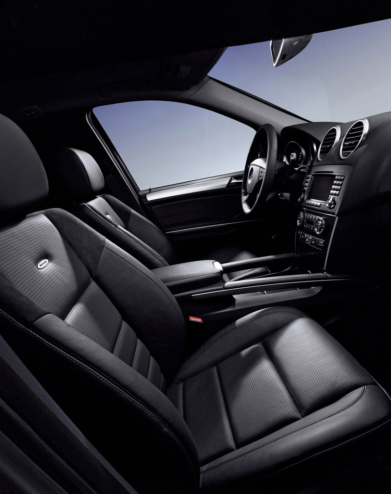 foto interiores mercedes ml 63 amg suv todocamino 2007. Black Bedroom Furniture Sets. Home Design Ideas