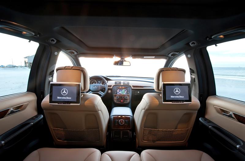Foto Interiores Mercedes R Class Suv Todocamino 2010