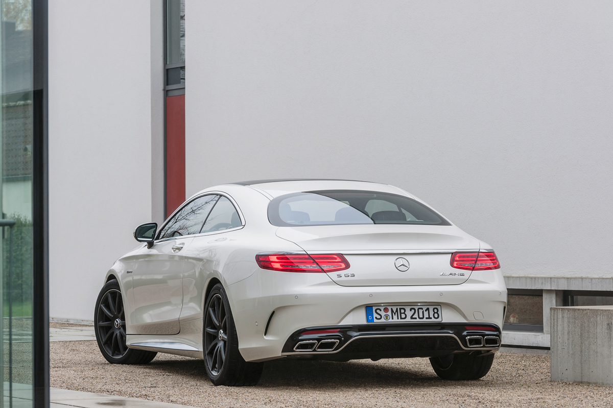 Mercedes-Benz S 63 AMG Coupé 2014