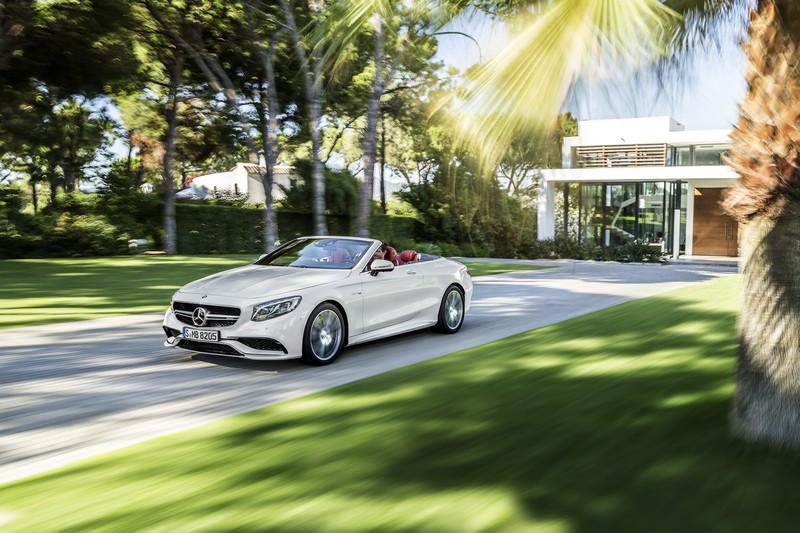 Foto Exteriores Mercedes S Class Cabrio 2015
