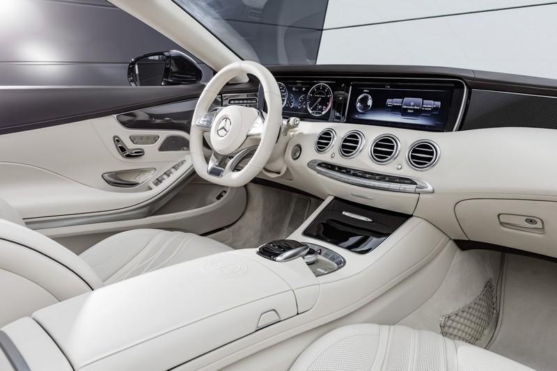 Foto Interiores Mercedes S Class Cabrio 2015