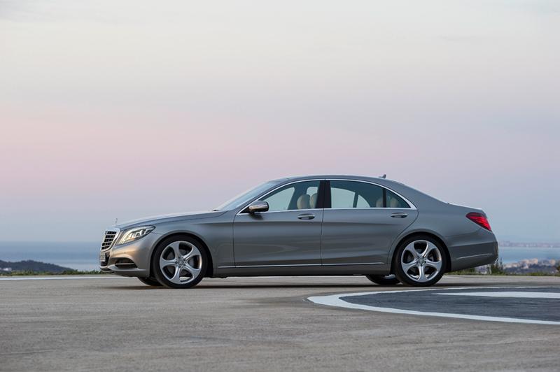 Foto Exteriores Mercedes S Class Berlina 2013