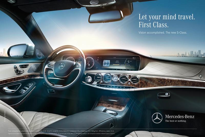 Foto Interiores Mercedes S Class Berlina 2013