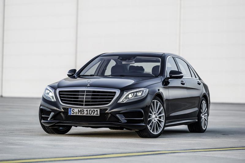 Foto Perfil Mercedes S Class Berlina 2013