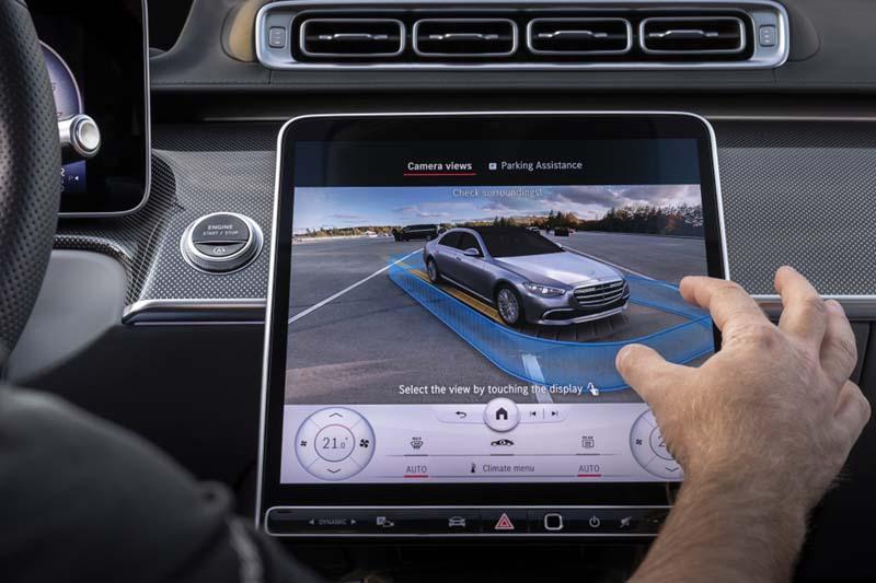 Mercedes-Benz Clase S 2020, foto pantalla salpicadero