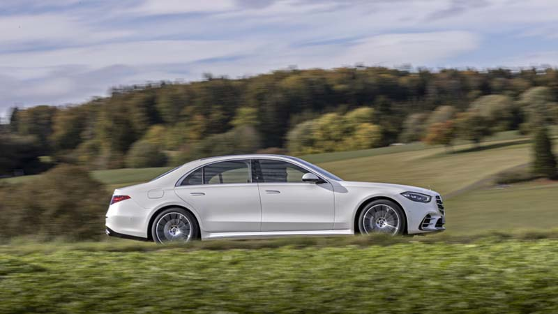 Mercedes-Benz Clase S 2020, foto lateral