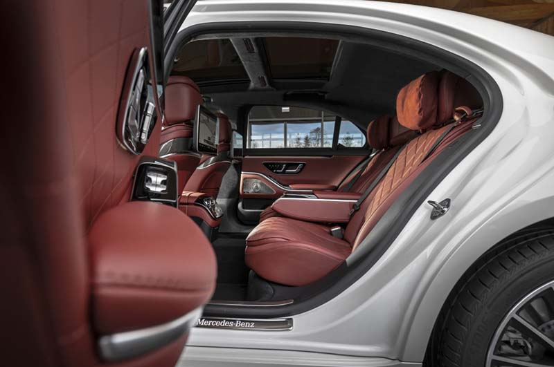 Foto Interiores Mercedes S Class Berlina 2020