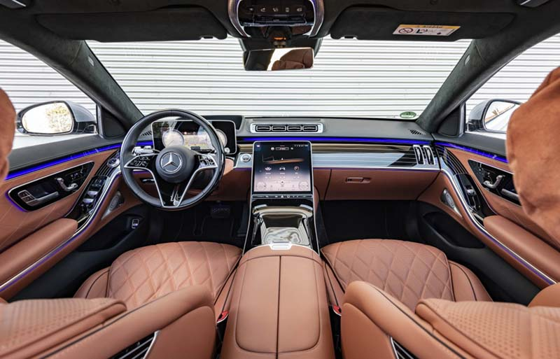 Mercedes-Benz Clase S 2020, foto salpicadero