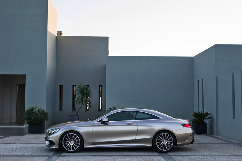 Foto Exteriores Mercedes S Class Cupe 2014