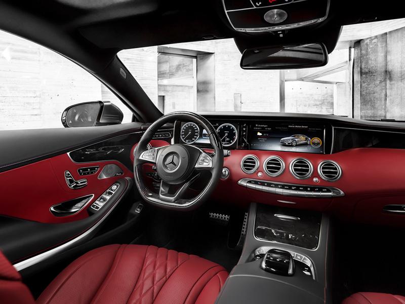 Foto Interiores Mercedes S Class Cupe 2014