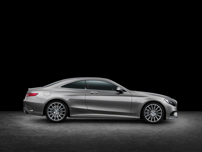 Foto Lateral Mercedes S Class Cupe 2014