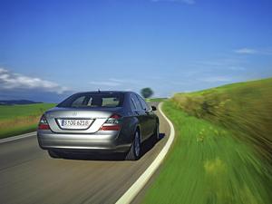 Foto Trasero Mercedes S class Sedan 2009