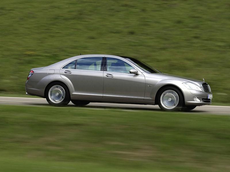 Foto Lateral Mercedes S class Sedan 2009