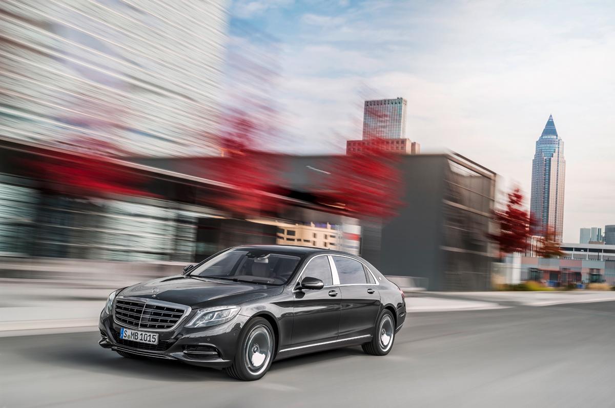 Mercedes-Maybach Clase S en el Salón de Detroit 2015